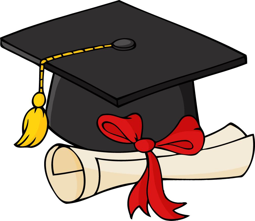 This is a graduation hat used as a link for a promotional picture letter.